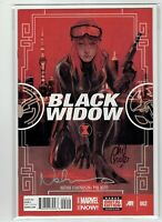 Black Widow #2 2014 Signed Phil Noto and Nathan Edmondson