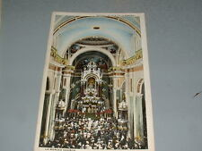 Early 1900's HABANA HAVANA Cuba Postcard, LA MERCED CHURCH, Vintage Color Postc