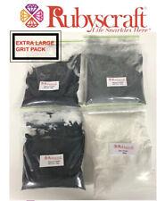 More details for extra large pack -stone tumbler silicon carbide grit & polish pack - 1 kilogram