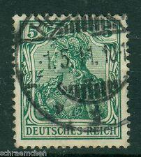 Deutsches Reich 85 Ia , o , geprüft - Germania Friedensdruck