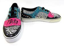 Creative Recreation Shoes Cesario Lo Animal Leopard Zebra Sneakers Size 9