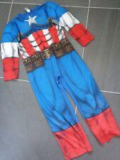 Captain America Dress Up Costume Age 7-8