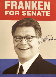 Rare - SIGNED Al Franklin Political Campaign Poster 2008 - One Owner