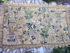 large english needlework embroidery panel 1660 embroidered tapestry tapestrie xv