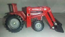 1/64 ERTL custom agco massey Ferguson 399 tractor w/ westendorf loader farm toy