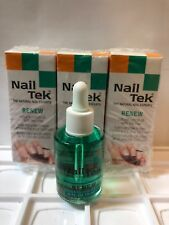 NailTek Renew Natural Cuticle Oil With Tea Tree NAIL TEK THE NATURAL NAIL EXPERT