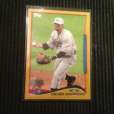 2014 TOPPS PRO DEBUT #69 DEVEN MARRERO *GOLD #06/50*  PORTLAND SEA DOGS