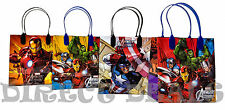 24 pc Marvel Avengers Assemble Party Favors Gift Toy Bags Birthday Candy Treat