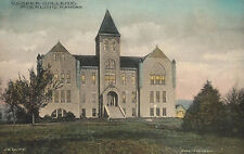 Stirling,Kansas,Cooper College (Now Strling),Hand-Colored,c.1918