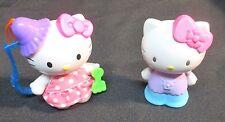 McDonald Hello Kitty Doll Key Chain & Hello Kitty Doll Figurine Sanrio 1976/2000