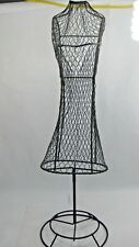 Metal Dress Form Mannequin Female Wire Stand Display Bust Body Store Decor Displ