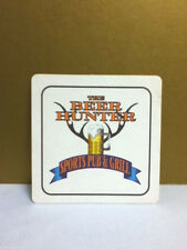 The Beer Hunter Sports Pub and Grill  square beer drink coaster coasters 1 Y1