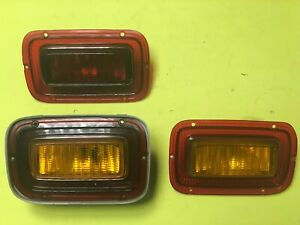 Toyota Crown Coupe Fastback MS70 MS75 3 Tail lights Geuine NOS
