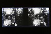 Francia Foto Amateur Negativo Unica PL51L3n7 Placca Da Lente Vintage 1911