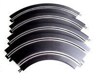Scalextric Start Track 90' 2nd Radius Curves Bends x4 Very Good Condition