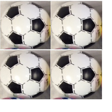 (Lot of 4x) Soccer Ball inflate PVC Ball - bulk - wholesale lot