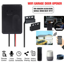 Smart Wifi Home Garage Door Opener Switch APP Remote Works Alexa Google  Kit