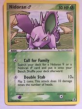 Nidoran (Male) Misprint! Error Card EX FR&LG Excellent Never Played Condition!