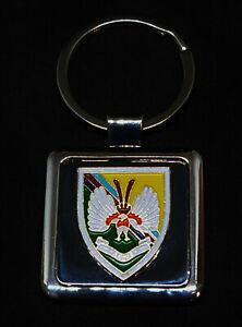 Argus 14 Intelligence The Det Deluxe Regimental keyring with Gold Plated Badge