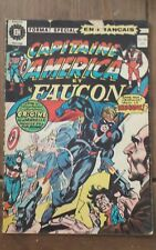 Capitaine America et Faucon # 40 French comic Francais 1974 Editions Héritage