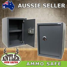 400x300x350 GUN SAFE AMMUNITION STORAGE SAFE STEEL BOX OFFICE HOME CABINET