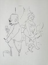 George Grosz Berlin Brothel Prostitute FREE Adult Toothbrush Wash Nude