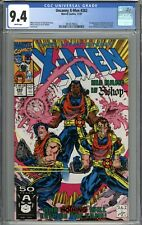 Uncanny X-Men #282 CGC 9.4 NM 1st Appearance of Bishop WHITE PAGES