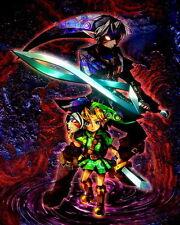 """002 The Legend of Zelda Majoras Mask - Majora s Hot Video Game 14""""x18"""" Poster"""