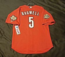 MAJESTIC AUTHENTIC, 54 3XL, HOUSTON ASTROS, RED, JEFF BAGWELL, ON FIELD Jersey