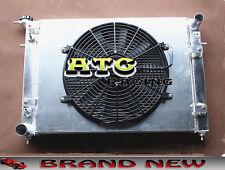 3 Core Aluminum Radiator + Shroud + Fan for Holden Commodore VN VG VP VR VS V6