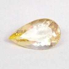 TOP HELIODOR : 9,27 Ct Natürlicher Heliodor ( Gold Beryll ) aus Brasilien