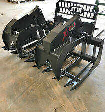 2018 MTL X-SERIES 72 Root Grapple Bucket skid steer CAT-Takeuchi FREE SHIP
