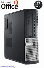Dell Computer Core i5-2400 SFF DESKTOP PC 3.10Ghz 8Gb Ram 1TB Windows 10 Pro 64