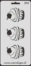 Scrapbooking Schablone S-205  Muffin ~ Stencil ~ UMR-Design