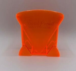 Orange Translucent Card Holder Original Part Trivial Pursuit Millennium Edition