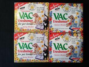 24 x VAC VACUUM Freshener Discs Extra Strength SUMMER Meadow & Spring Meadow