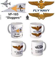 "VF-103 ""Sluggers"" F-4 Phantom or F-14 Tomcat mug."