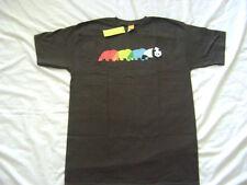 Enjoi Skateboard Huber Panda Logo T-Shirt Brown Size Small New