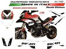 Adesivi per Ducati Multistrada 1200 2013/2014 design 90°Anniversario