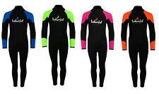Junior Strobe 2mm Full Length Kids Wetsuit Full Length Childrens Suit Full- TBF