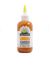 Yellowbird Habanero Hot Sauce Condiment  9.8 oz bottle