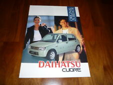 Daihatsu Cuore Zubehör Prospekt 02/1999