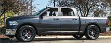 "22"" Hellcat Style Wheels For Dodge Ram 1500 Dakota Durango Hyperblack 22x10 Set"