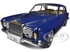 1968 ROLLS ROYCE SILVER SHADOWS BLUE THOMAS CROWN AFFAIRS 1/18 BY PARAGON 98203