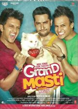 GRAND MASTI [MASTI 2] - BOLLYWOOD ORIGINAL DVD - FREE POST