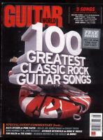 Guitar World Magazine August 2011 Rush Van Halen Floyd Stones Steely DanMBX65