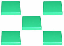 Missing Lego 3068b Green x 5 Tile 2 x 2 with Groove