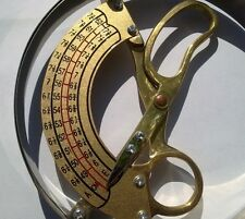 Scissor Type Compass Cap Hat Size Measuring Tool Hand Held Millinery Sizer M