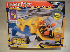 Rescue Heroes Quick Response Helicopter Factory Sealed!
