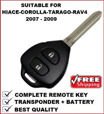 28240 Remote Car Key Suitable for Toyota Corolla Hiace Rav4 Tarago 2007 - 2010